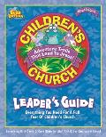 Noah's Park Children's Church Leader's Guide [With CD]