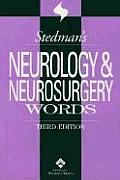 Stedmans Neurology Neurosurgery Word 3rd Edition