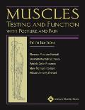 Muscles : Testing and Function With Posture and Pain - With CD (5TH 05 Edition)