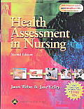 Health Assessment in Nursing, Second Edition with Case Studies on with CDROM