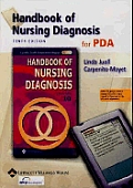 Handbook of Nursing Diagnosis for PDA (CD-ROM for PDA, Palm OS: 1.0 MB, Free Space Required, Windows CE/Pocket PC: 1.8 MB Free