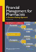 Financial Management for Pharmacists A Decision Making Approach