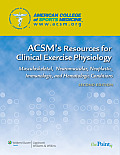 Acsms Resources For Clinical Exercise Physiology Musculoskeletal Neuromuscular Neoplastic Immunologic & Hematologic Conditions