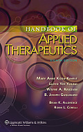The Handbook of Applied Therapeutics: Diagnosis and Therapy (Spiral Manual)