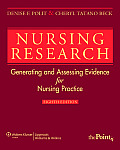 Nursing Research Generating & Assessing Evidence for Nursing Practice 8th edition
