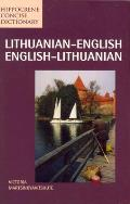 Lithuanian/English-English/Lithuanian Concise Dictionary (Hippocrene Concise Dictionary) Cover
