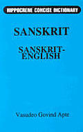 Sanskrit English Hippocrene Concise Dictionary