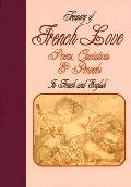 Treasury of French Love Poems, Quotations and Proverbs Cover