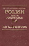 Polish-English Dictionary: Volume 1 to 3