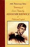 Treasury of Love Poems by Adam Mickiewicz in Polish & English