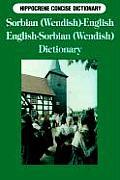 Sorbian-English, English-Sorbian Concise Dictionary (Hippocrene Concise Dictionary)