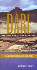 Dari: Dari-English, English Dari Dictionary & Phrasebook (New Dictionary & Phrasebooks)