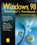 Windows 98 developer's handbook