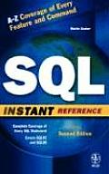 SQL Instant Reference (Sybex Instant Reference)