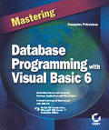 Mastering Database Prog with Visual Basic 6 with CDROM (Mastering) Cover