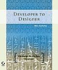 Developer to Designer GUI Design for the Busy Developer