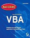 Mastering VBA 2nd Edition