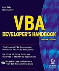 VBA Developer's Handbook Cover