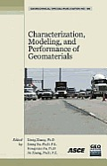Characterization, Modeling, and Performance of Geomaterials; Proceedings.