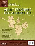 Adult Teacher's Convenience Kit Summer 2013 KJV: Plastic Zip Sealed Bag (Standard Lesson Quarterly KJV)