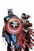 Two Americans Captain America & Falcon