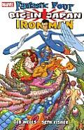 Big In Japan Fantastic Four Iron Man