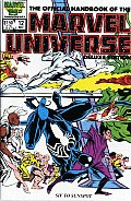 Official Handbook of the Marvel Universe Deluxe Edition 02