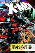 Uncanny X Men Rise & Fall of the Shiar Empire