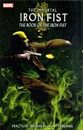 Immortal Iron Fist #03: The Book of the Iron Fist Cover
