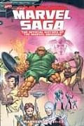 Marvel Saga The Official History of the Marvel Universe