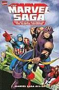 Marvel Saga Volume 2 The Official History of the Marvel Universe