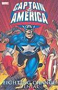 Captain America: Fighting Chance Volume 1 Tpb Cover