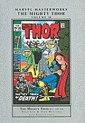 The Mighty Thor, Volume 10 (Marvel Masterworks Library) Cover