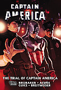 Captain America: The Trial of Captain America (Captain America) Cover
