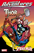 Marvel Adventures Avengers Thor Spider Man