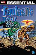 Essential Fantastic Four - Volume 6: Reissue (Essential Fantastic Four) Cover