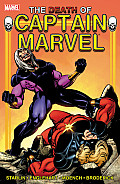 Captain Marvel: The Death Of Captain Marvel (Captain Marvel) by Jim Starlin