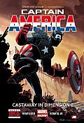 Captain America Volume 1 Cast Away in Dimension Z Book 1 Marvel Now