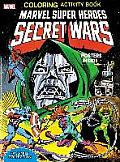 Marvel Super Heroes Secret Wars Activity Book Facsimile Edition