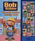 Bob the Builder Wipe-Off Talking Activity Book