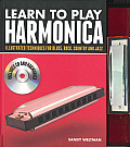 Learn to Play Harmonica with Harmonica Illustrated Techniques for Blues Rock Country & Jazz