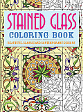 Stained Glass Coloring Book...