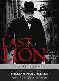 The Last Lion: Winston Spencer Churchill, Alone, 1932-1940 Cover