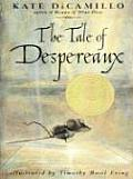 The Tale of Despereaux: Being the Story of a Mouse, a Princess, Some Soup, and a Spool of Thread (Large Print) Cover