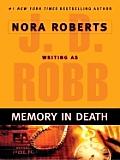 Memory in Death (Large Print) (Thorndike Core)