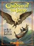 Literacy Bridge Middle Reader #2: The Blue Djinn of Babylon (Large Print)