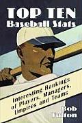 Top Ten Baseball STATS Interesting Rankings of Players Managers Umpires & Teams