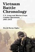 Vietnam Battle Chronology: U.S. Army and Marine Corps Combat Operations, 1965-1973