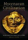 Mycenaean Civilization: An Annotated Bibliography, Through 2002