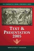 Text & Presentation, 2005